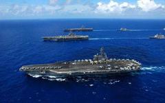 美军称航母作战群返海湾