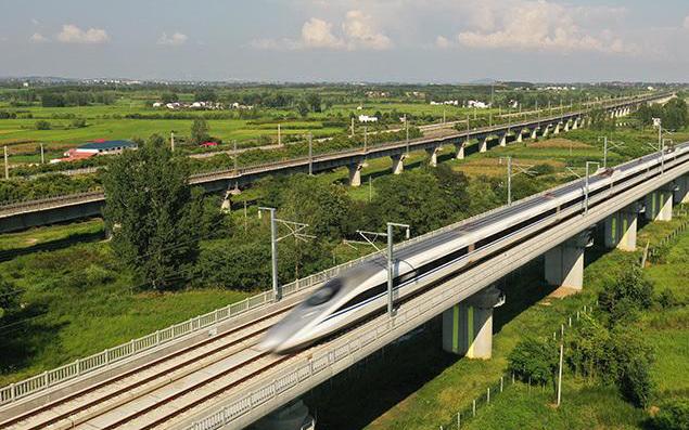 中国高铁里程五年倍增 里程稳居世界第一